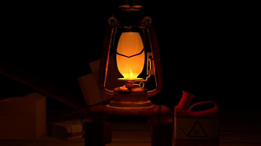 lantern in Blender
