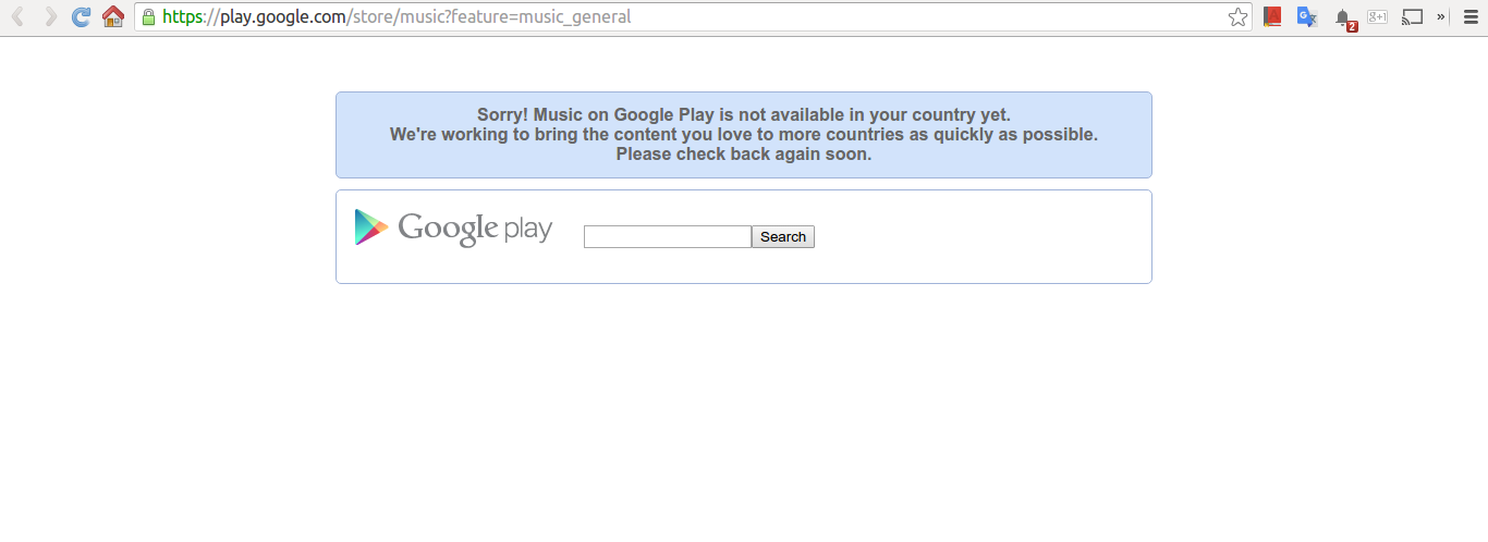 Google Play Music Rolling out to Ghana? - KhoPhi's Blog