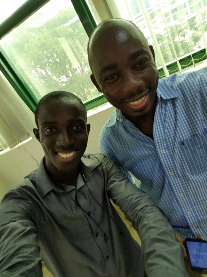 Oral Ofori and I