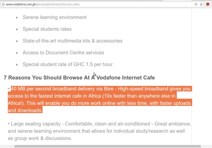 Dear Vodafone Ghana    - KhoPhi's Blog
