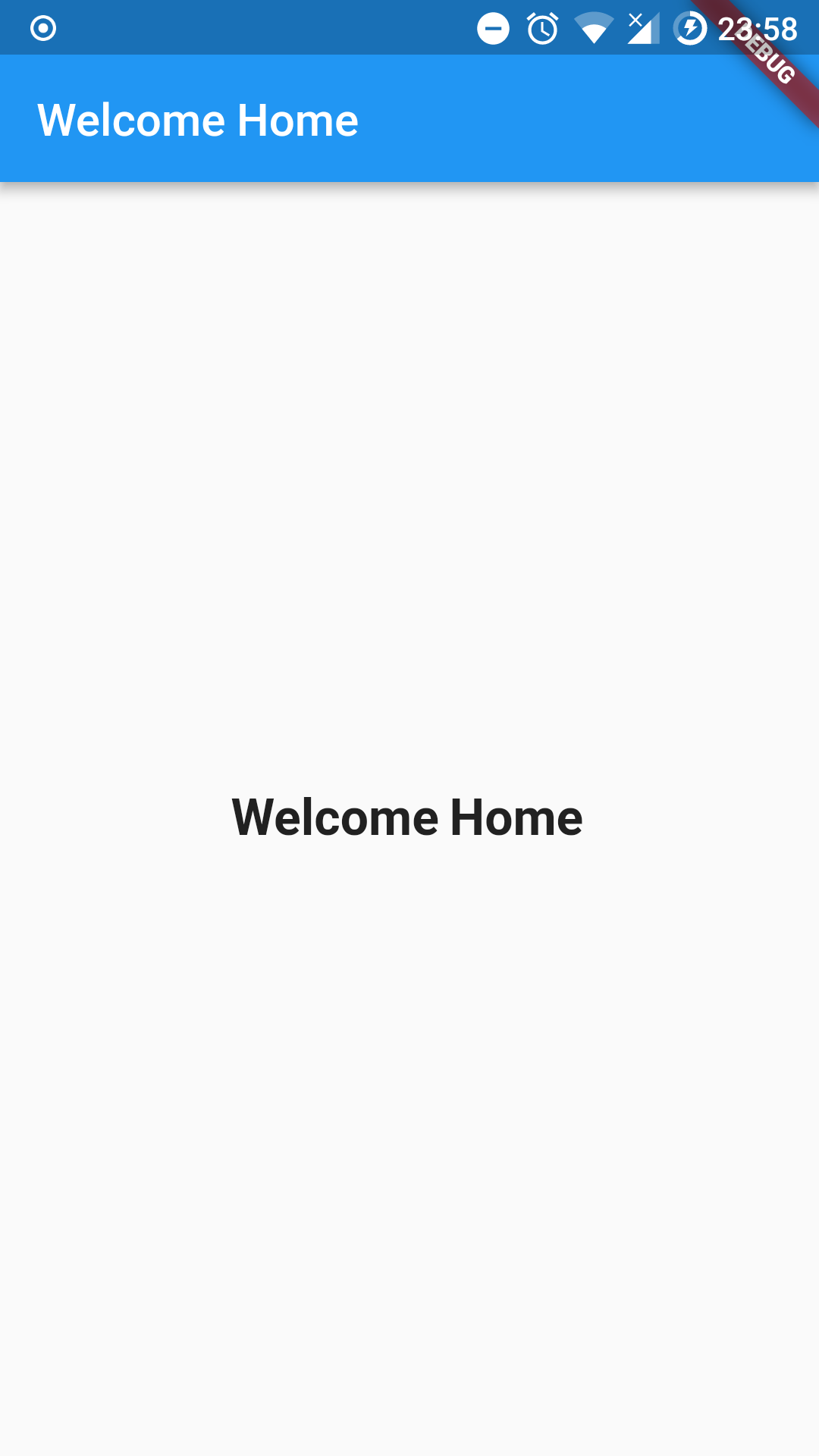 Flutter - Barebones, Basic Good Looking Login Page, with